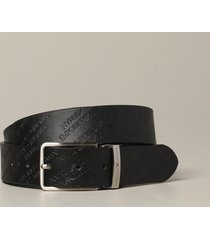 emporio armani belt emporio armani belt in printed and reversible leather