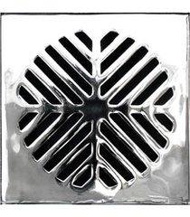 grelha para caixa sifonada quadrada 15cm alumínio
