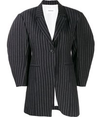enföld pinstripe 3d arm jacket - blue
