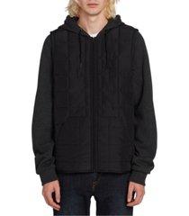 volcom men's september hooded jacket