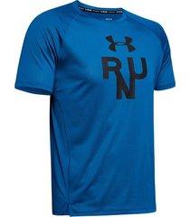 camiseta de hombre para correr under armour ua qualifier glare shortsleeve