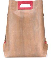 cecchi de rossi reversible tote bag - brown
