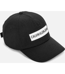 calvin klein jeans women's cap institutional - black