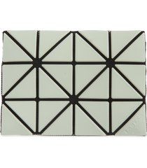bao bao issey miyake lucent card case in light green at nordstrom