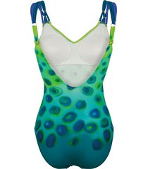 baddräkt sunflair grön::blå
