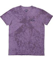 camiseta archwave tie die billabong - roxo - masculino - dafiti