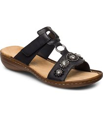 608a9-14 shoes summer shoes flat sandals blå rieker