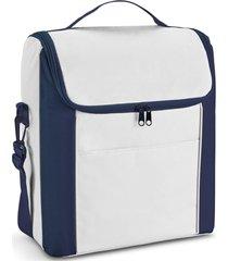 bolsa térmica média spazio topget branco e azul