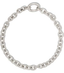 tom wood ada cable chain bracelet - silver