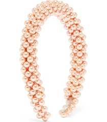 antonia faux-pearl headband
