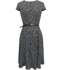 jessica howard belted fit & flare dress