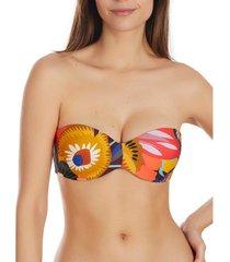 bikini selmark haut de maillot de bain bandeau etnica mare