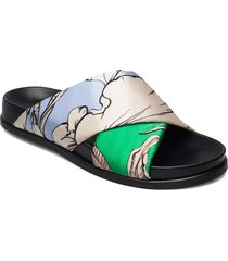 tumeric shoes summer shoes flat sandals svart munthe