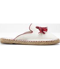 pantofola con corda (bianco) - john baner jeanswear