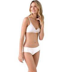 panty basico termosellado ref 1224o92l off white options intimate