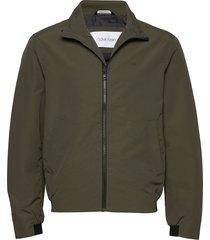 casual nylon blouson jacket tunn jacka grön calvin klein