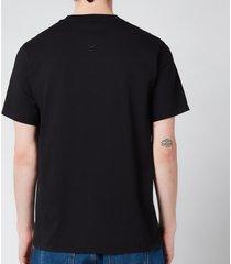 kenzo men's tiger crest classic t-shirt - black - l