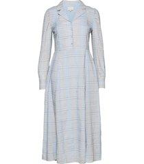 cornelia dress maxiklänning festklänning blå minus