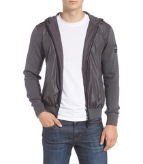 men's canada goose windbridge regular fit hooded sweater jacket