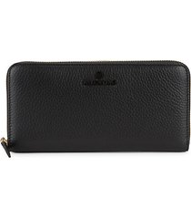 farley pebbled-leather zip-around long wallet
