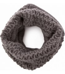 glitzhome textured infinity scarf
