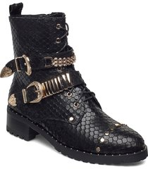 boot 4,2 cm shoes boots ankle boots ankle boot - flat svart sofie schnoor