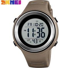 reloj deportivo para hombre al aire libre-marrón