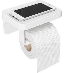porta papel higiênico flex co branco umbra