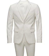 plain mens suit kostym vit lindbergh