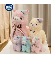 35 cm pernycess alpacasso standing hat alpaca stuffed animal plush toy doll gif