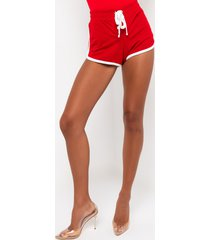 akira paxton all star lace up shortie shorts