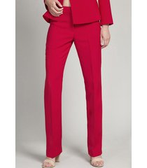 pantalón mujer capri rojo elemental liola