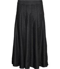 sonja knälång kjol svart masai