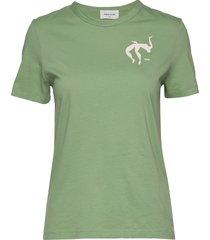 aria t-shirt t-shirts & tops short-sleeved grön wood wood