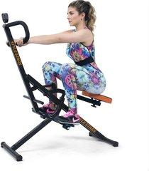 máquina de ejercicio abdominal monitor y ligas style stars