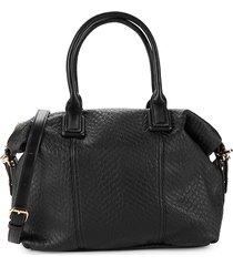 street level women's textured shoulder bag - tan