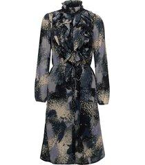 lillysz dress knälång klänning blå saint tropez