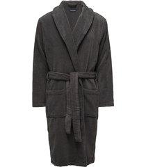 icon bathrobe morgonrock badrock grå tommy hilfiger
