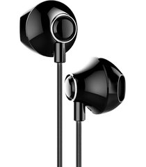 audifonos baseus 6d estereo in ear control conector 3.5mm