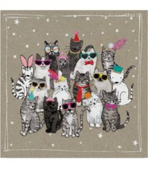 "hammond gower fancy pants cats vii canvas art - 15"" x 20"""