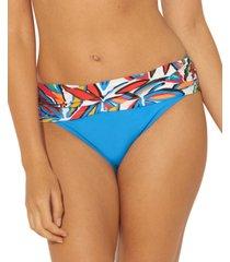 bleu by rod beattie lush life sarong hipster bikini bottoms women's swimsuit