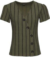 maglia con bottoni (verde) - bodyflirt