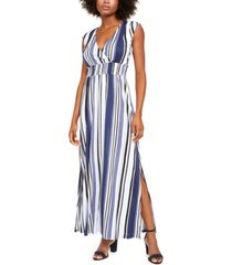 inc smocked-waist maxi dress, created for macy's