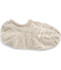 men's bombas merino wool blend no-show socks, size large - grey
