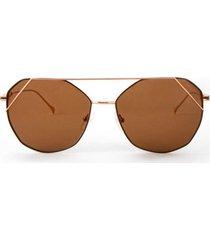 gafas invicta eyewear modelo i 27580-obj-12-05 oro rosa hombre