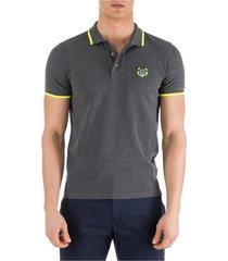 men's short sleeve t-shirt polo collar tiger regular fit