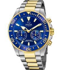 reloj actual azul jaguar
