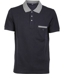 fay side pocket polo shirt