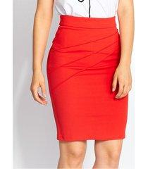 faldas rojo derek 820899