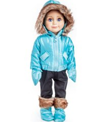 "the queen's treasures 18"" ski wear doll clothes outfit - 6 piece"